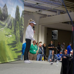 LPGA Professional Natalie Gulbis answered questions and explained her practice strategies from the Northern Indiana Golf Show stage.